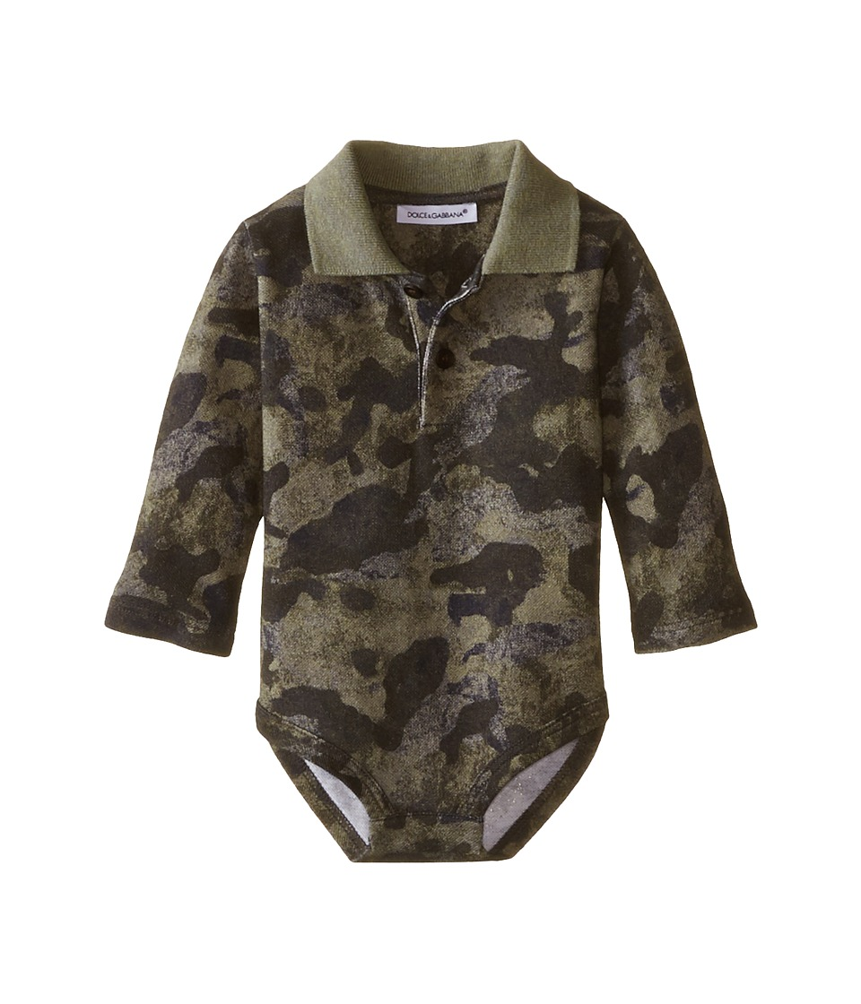 Dolce & Gabbana Kids - Camo One-Piece (Infant) (Print) Boy's Jumpsuit & Rompers One Piece
