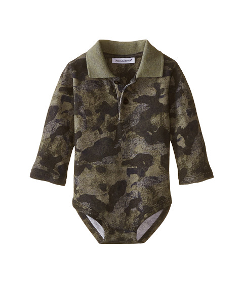 Dolce & Gabbana - Camo One-Piece (Infant) (Print) Men's Jumpsuit & Rompers One Piece