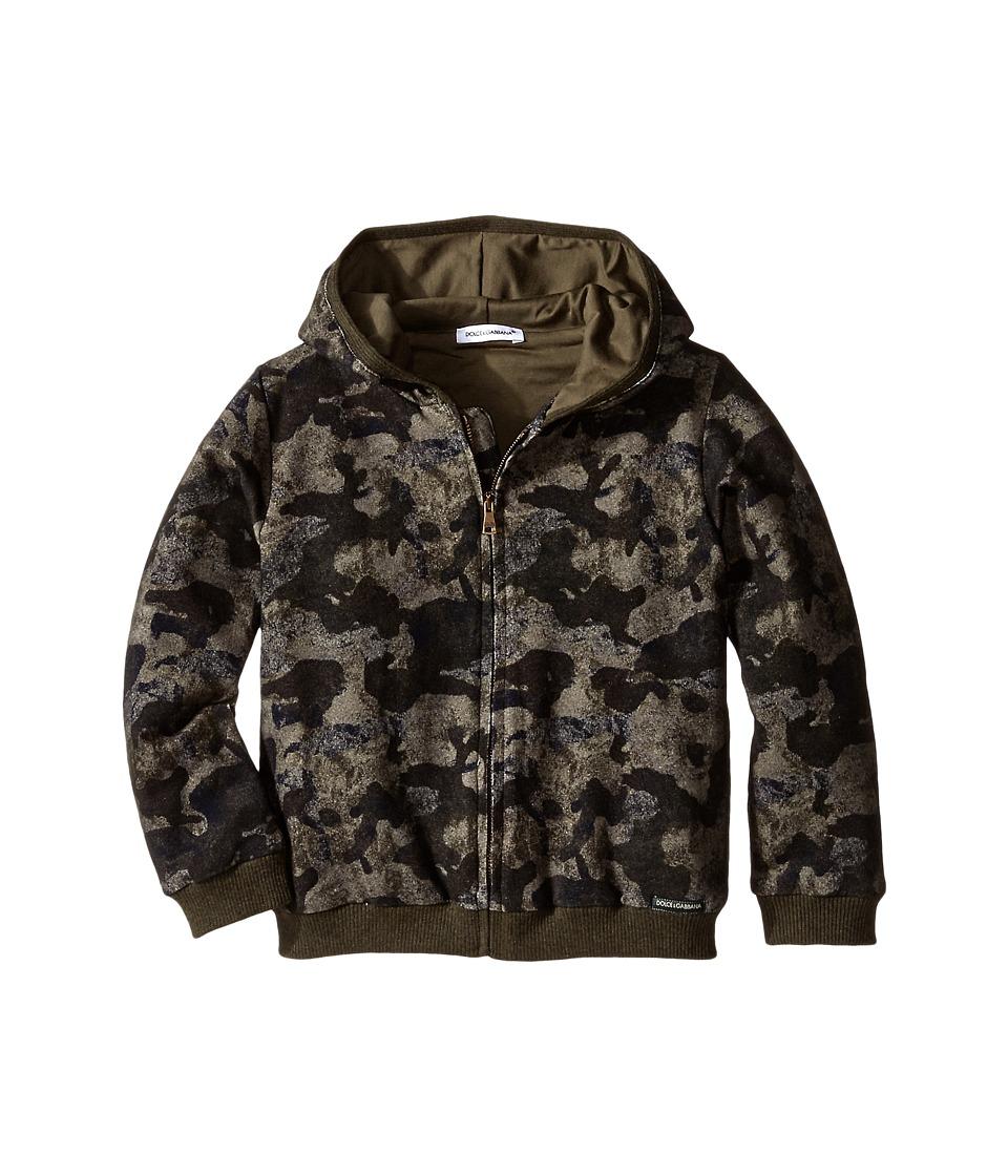 Dolce & Gabbana - Camo Hoodie (Infant) (Print) Men's Sweatshirt