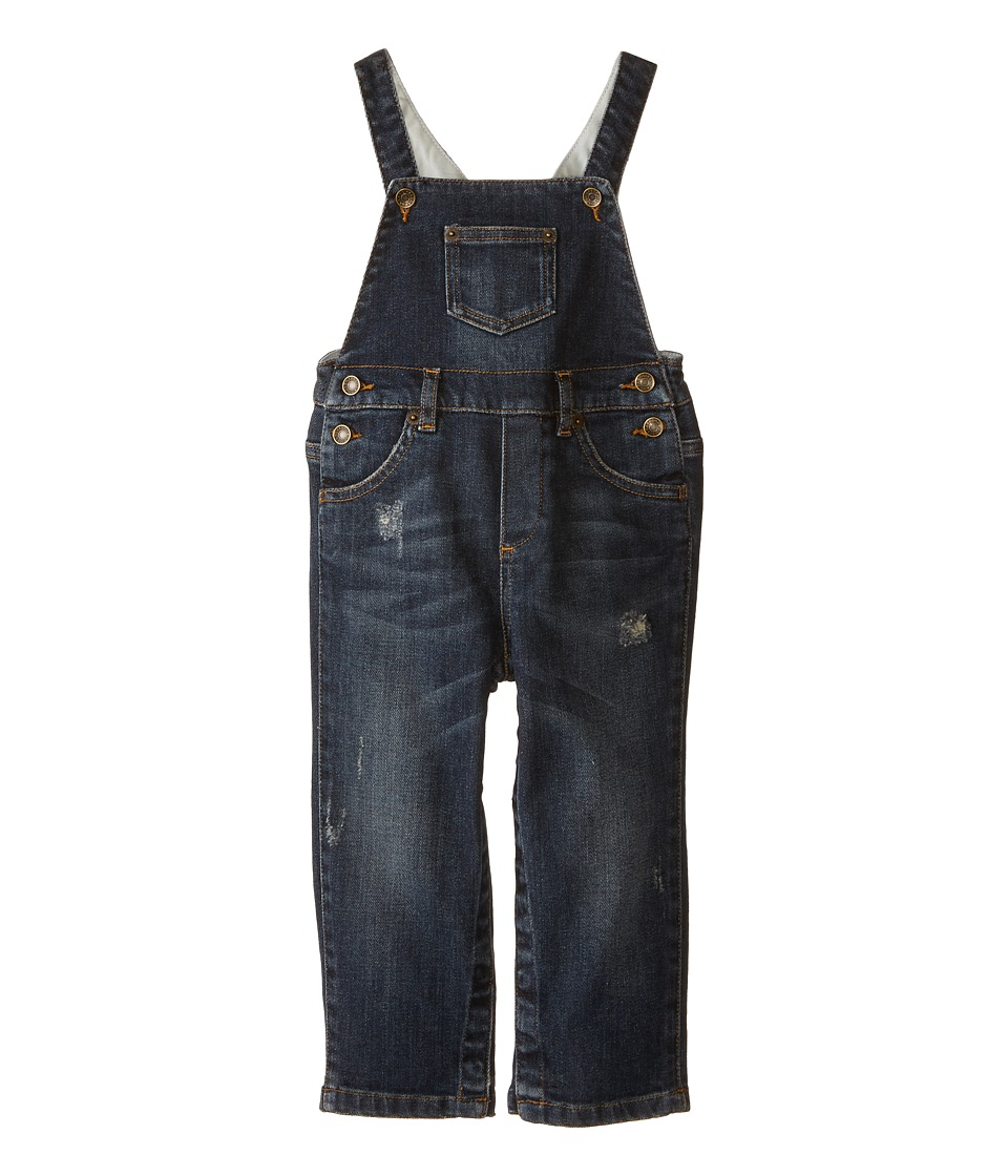 Dolce & Gabbana Kids - Denim Overalls (Infant) (Blue) Boy's Overalls One Piece