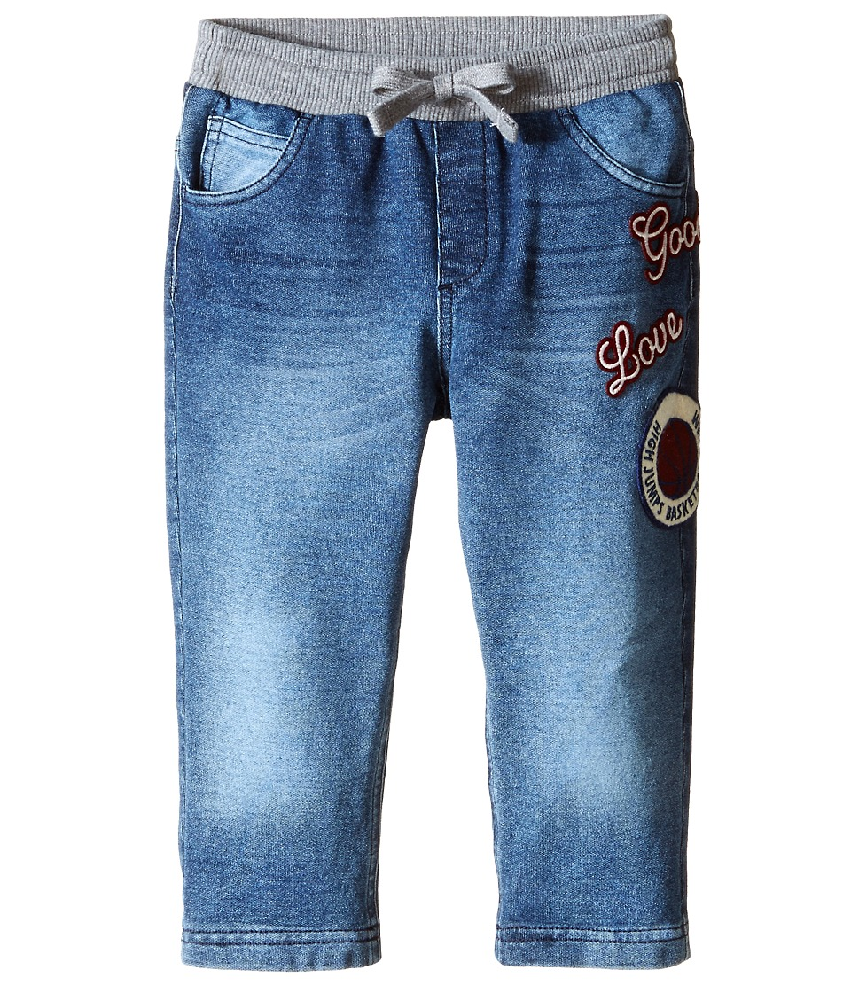 Dolce & Gabbana - Denim Effect Sweatpants (Infant) (Blue) Men