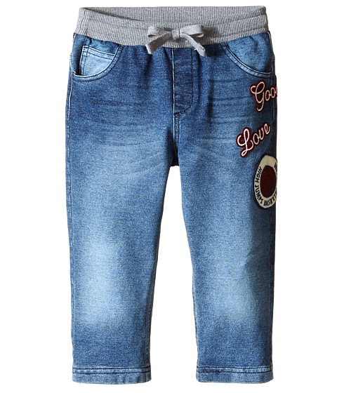 Dolce & Gabbana - Denim Effect Sweatpants (Infant) (Blue) Men's Jeans