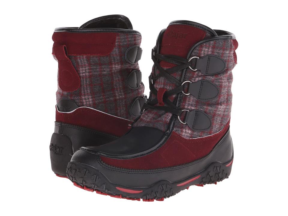 Pajar CANADA - Piper (Black/Burgundy/Black) Women's Hiking Boots