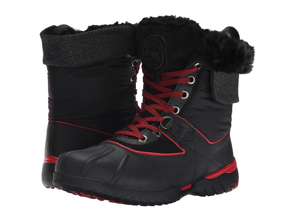 Pajar CANADA - Krystal (Black/Black/Red/Black/Grey) Women's Hiking Boots