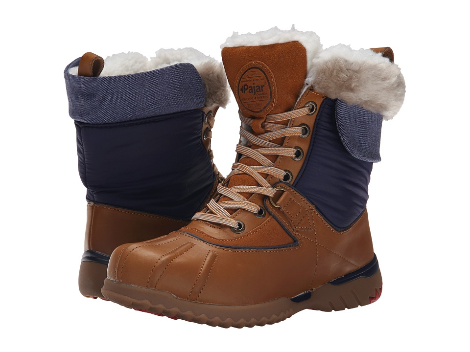 Pajar CANADA - Krystal (Navy/Cognac/Navy/Tan/Brown) Women's Hiking Boots
