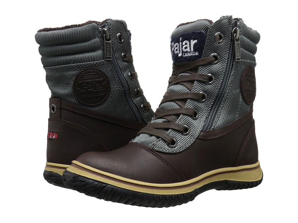 Pajar CANADA - Leslie (Dark Brown/Dark Grey) Women's Hiking Boots
