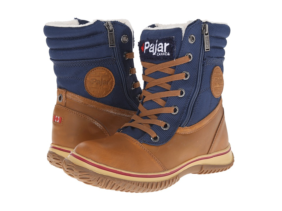 Pajar CANADA - Leslie (Cognac/Navy) Women's Hiking Boots