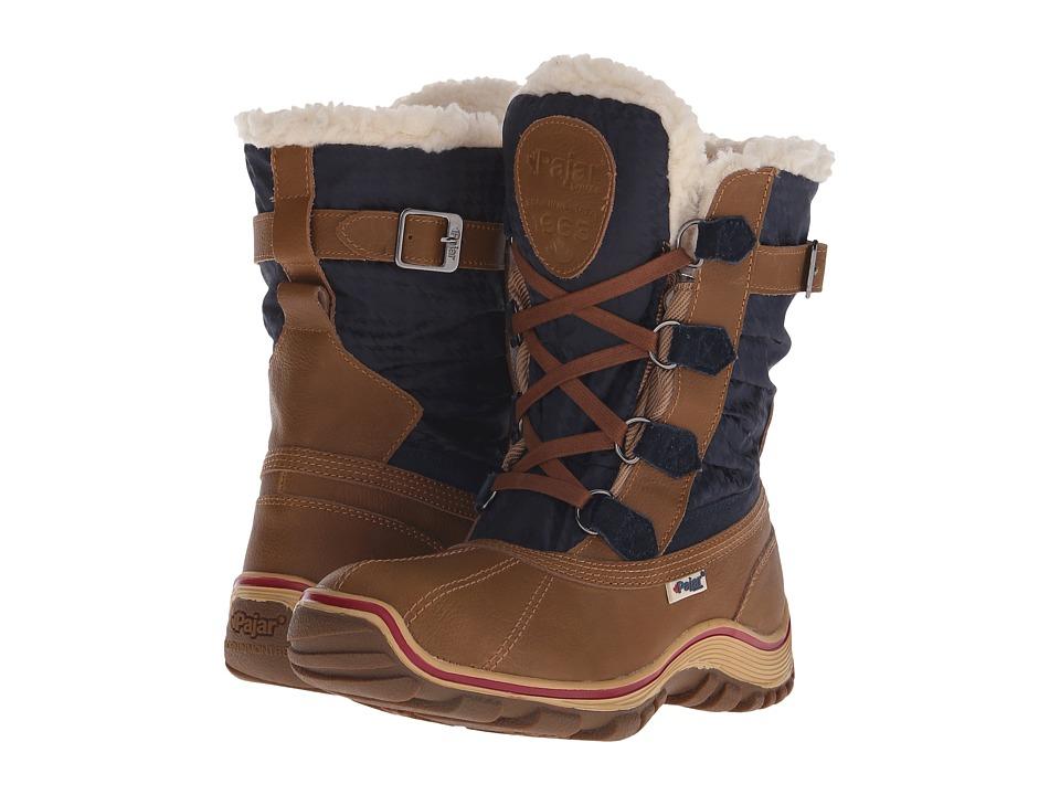 Pajar CANADA - Adriana Low (Cognac/Navy) Women's Boots