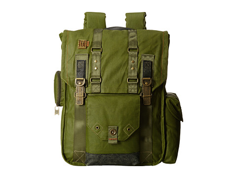 FUL - Tremolo Backpack Red Label (Military Green) Backpack Bags