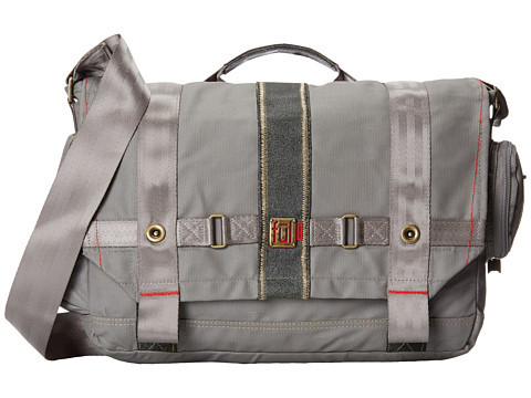 FUL - Ovation Messenger Red Label (Grey) Messenger Bags