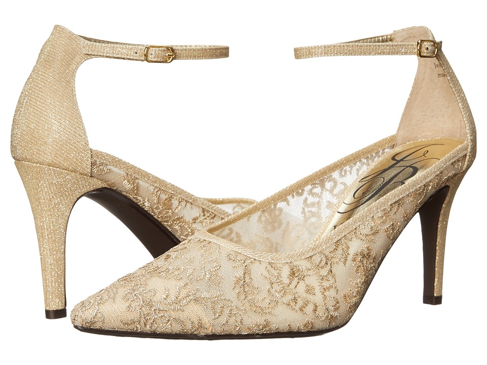 J. Renee Jena (Gold) High Heels