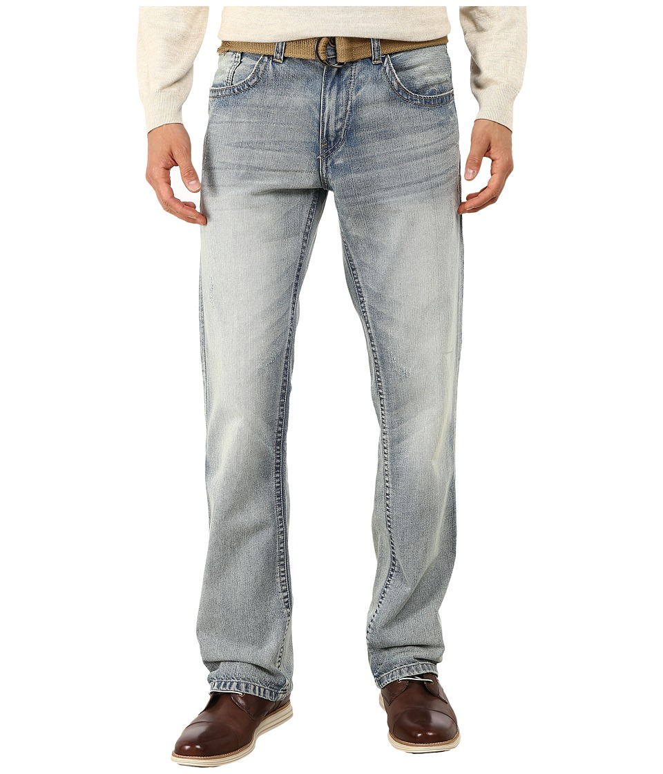 UNIONBAY - Cavalier Boot Jeans in Avalanche/Belt (Avalanche/Belt) Men