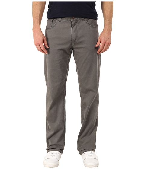 UNIONBAY - Shay Stretch Five-Pocket Straight Jeans in Grey Goose (Grey Goose) Men's Jeans