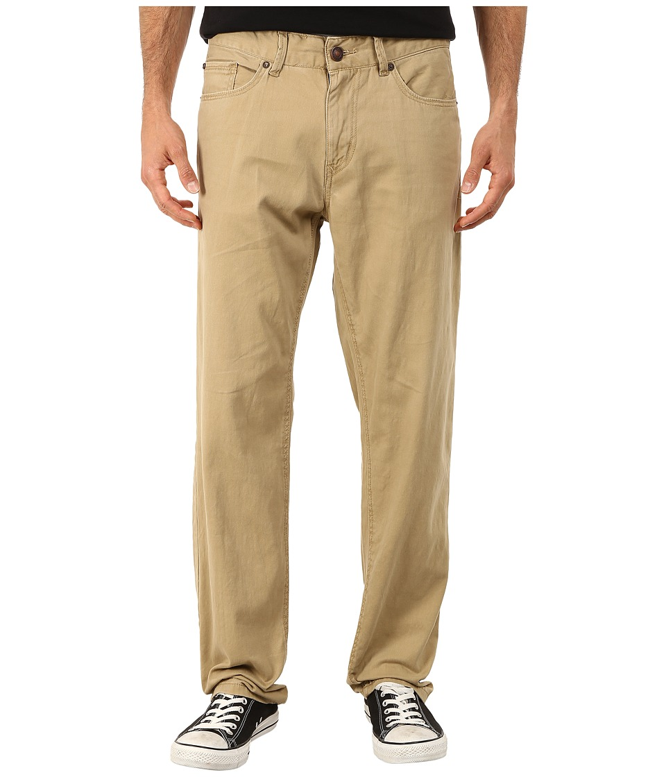 UNIONBAY - Shay Stretch Five-Pocket Straight Jeans in Grain (Grain) Men
