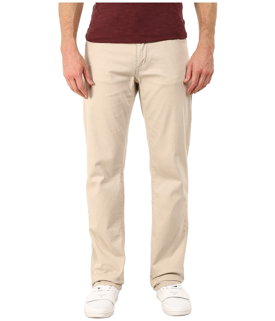 UNIONBAY - Shay Stretch Five-Pocket Straight Jeans in Sand (Sand) Men