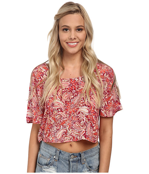 Billabong - Days Off Top (Sangria) Women's Clothing