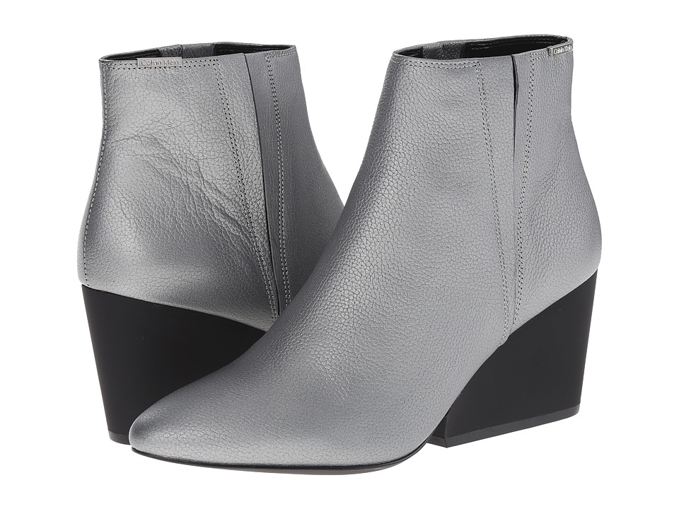 Calvin Klein - Celine (Steel Tumbled Metallic) Women