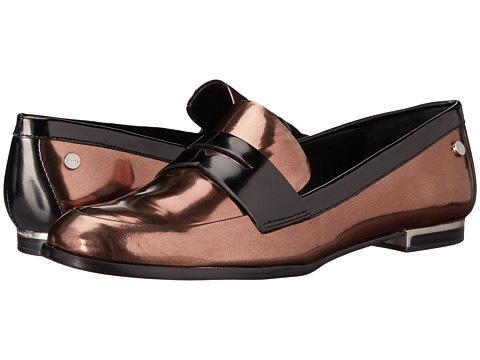 Calvin Klein - Celia (Espresso/Black Metallic Box) Women's Shoes