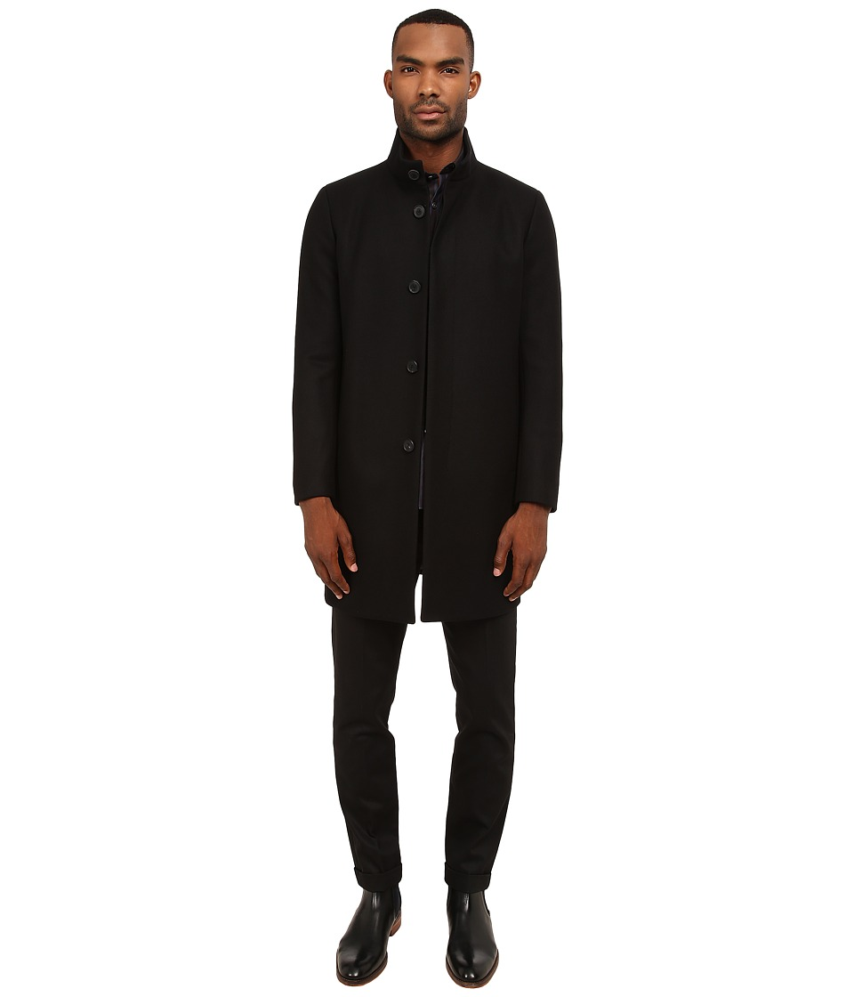 Theory - Belvin WP.Voedar Outerwear (Black) Men's Clothing