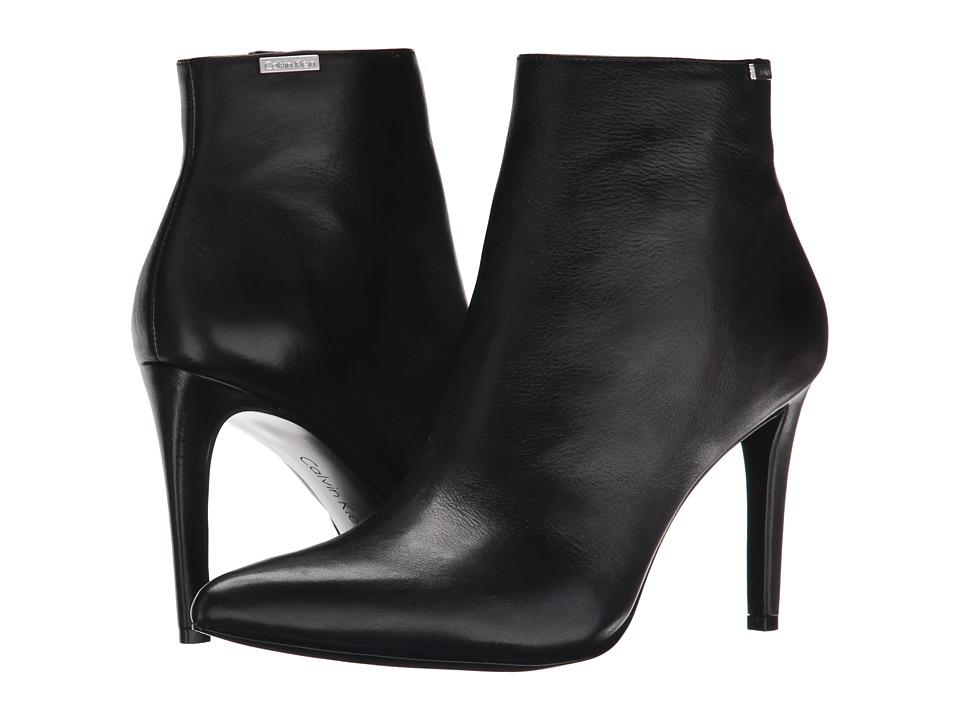 Calvin Klein - Clariss (Black Leather) Women