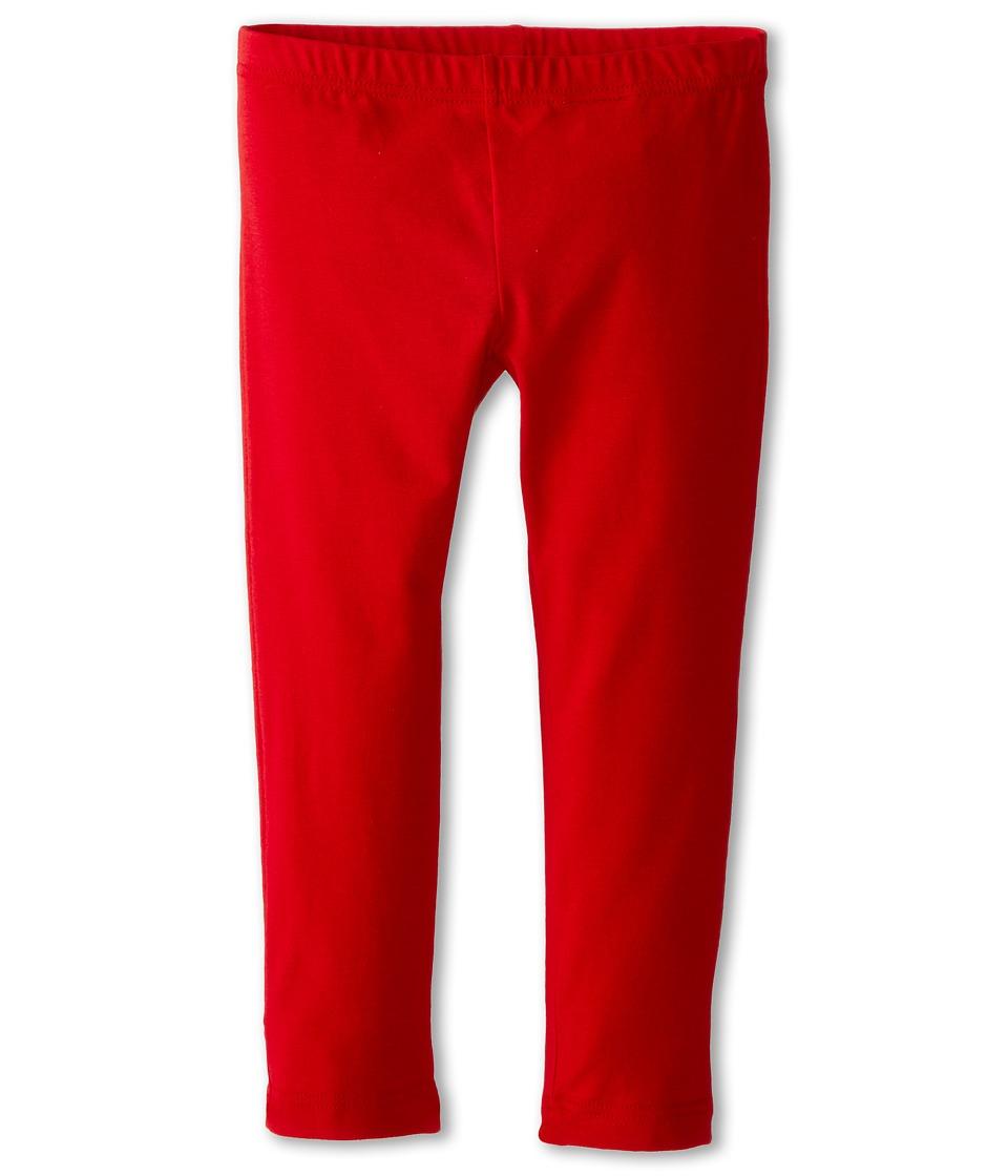 Dolce & Gabbana - Back to School Solid Leggings (Toddler/Little Kids) (Dark Red) Women