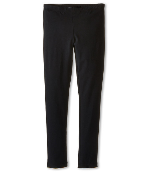Dolce & Gabbana - Back to School Solid Leggings (Big Kids) (Black) Women's Casual Pants