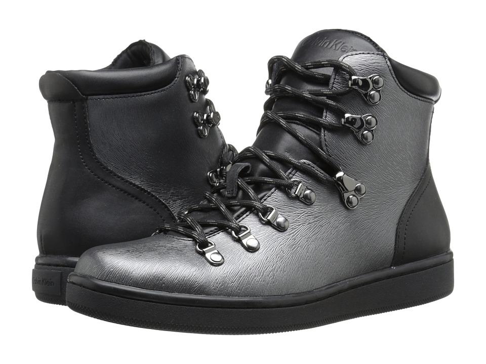 Calvin Klein - Dita (Pewter/Black Leather) Women
