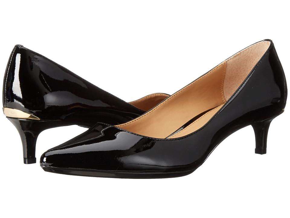 Calvin Klein - Gabrianna (Black Patent) Women's 1-2 inch heel Shoes