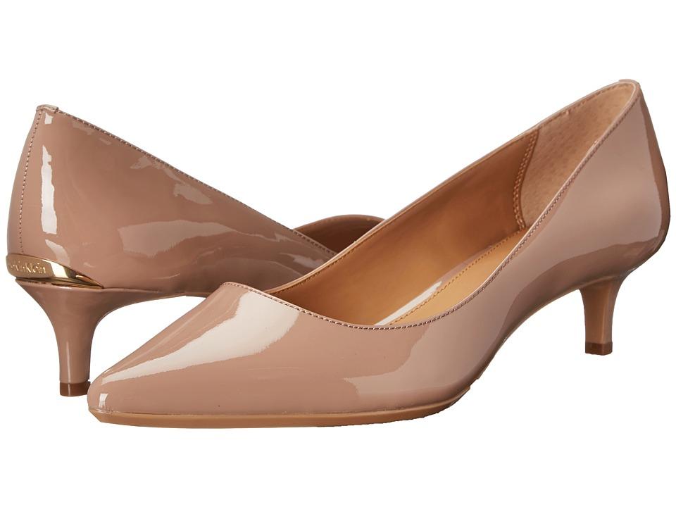 Calvin Klein - Gabrianna (Sahara Blush Patent) Women's 1-2 inch heel Shoes