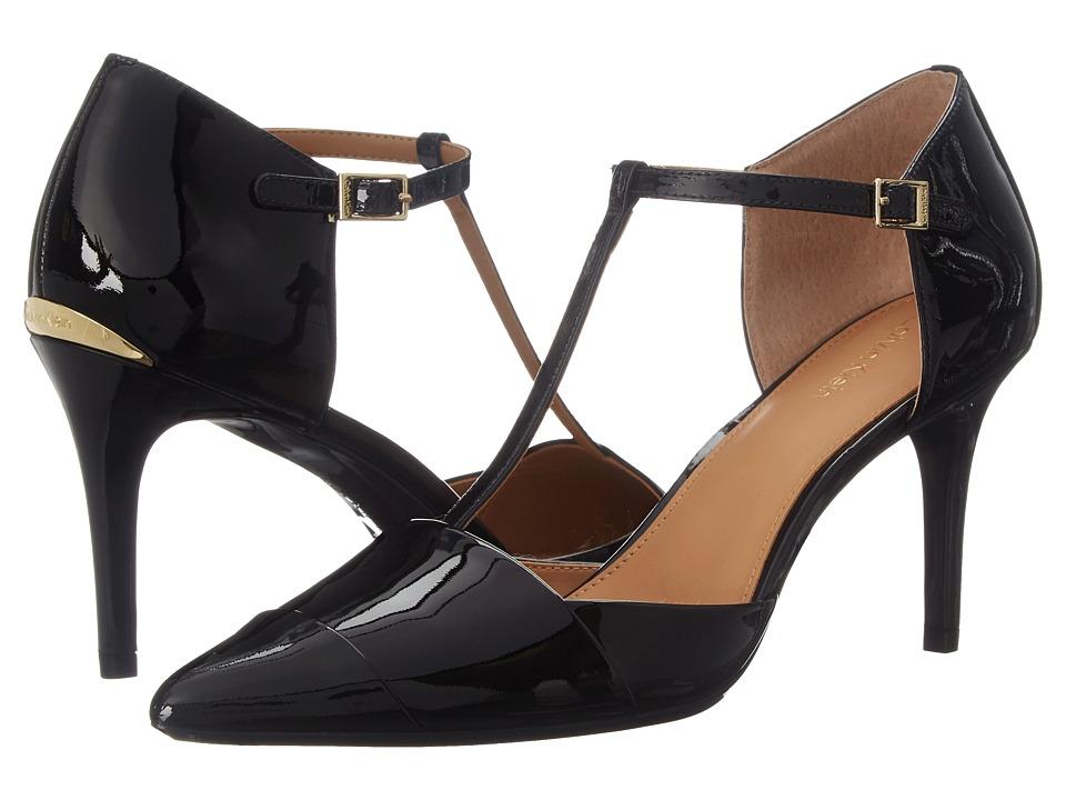 Calvin Klein - Ginae (Black Patent) High Heels