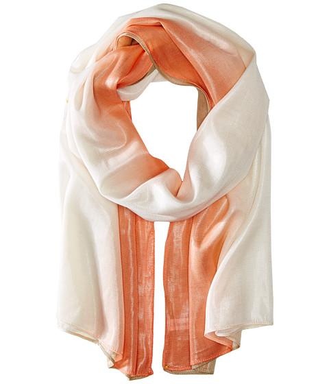 Calvin Klein - Dip Dye Liquid Lurex Scarf (Sherbert) Scarves