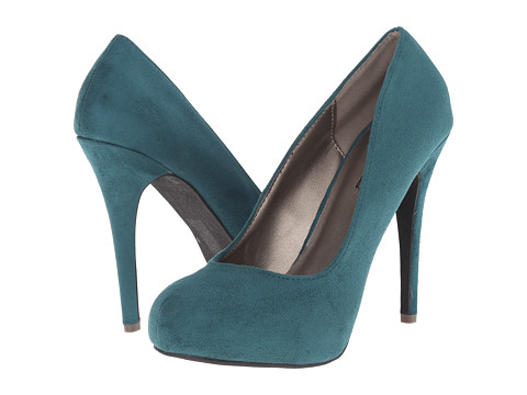 Michael Antonio - Love Me - Suede 2 (Emerald) High Heels