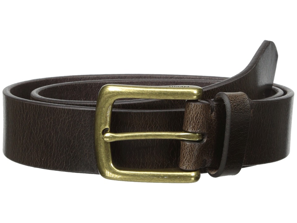 Fossil - Bison Series Belt (Black) Men's Belts