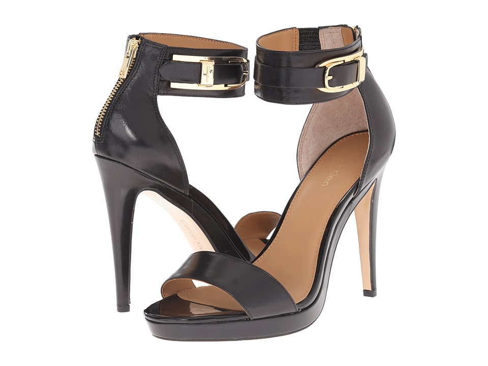 Calvin Klein - Panthea (Black Kid Skin) High Heels
