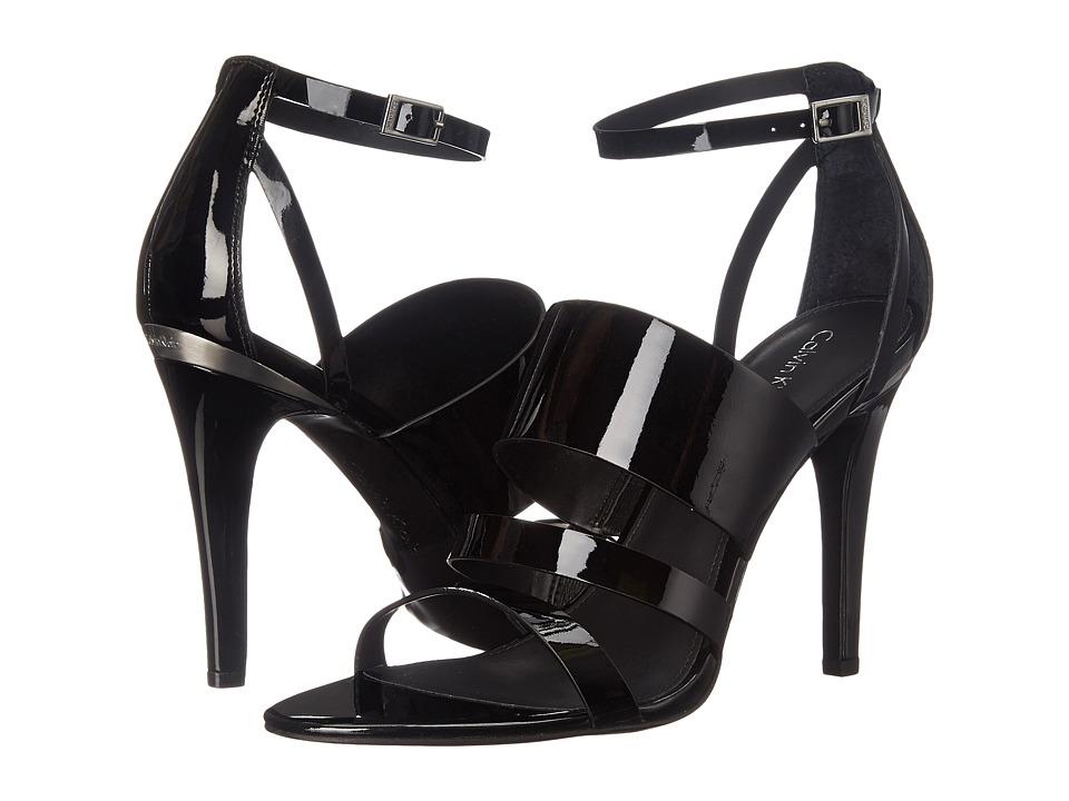Calvin Klein - Mayra (Black Patent) High Heels