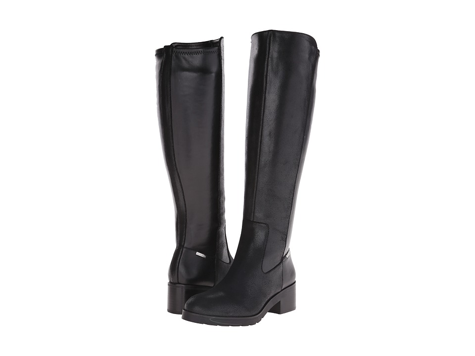 Calvin Klein - Salomon (Black Leather) Women's Shoes