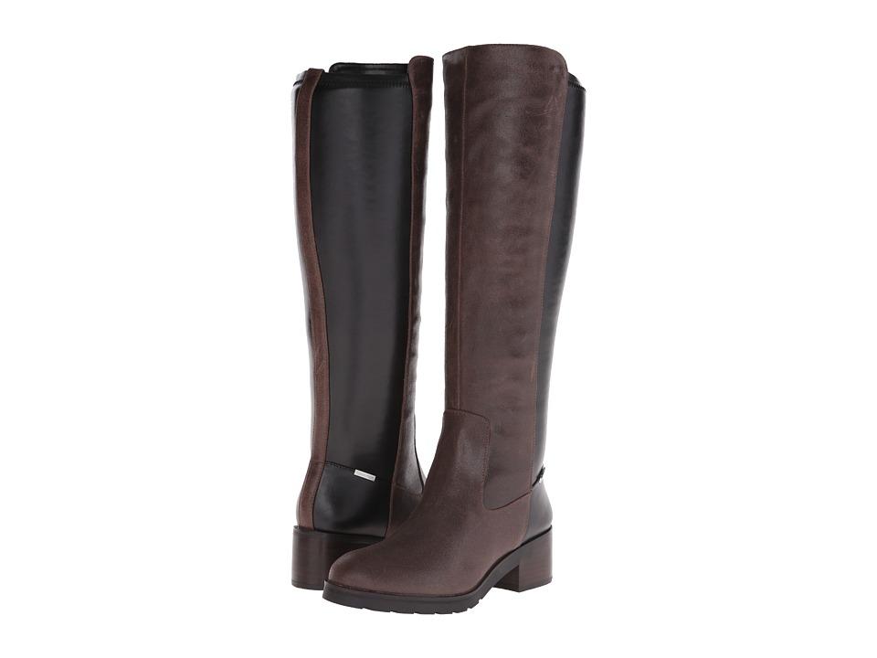 Calvin Klein - Salomon (Espresso Leather) Women's Shoes
