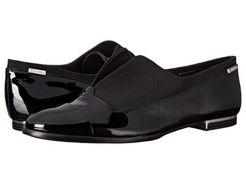 Calvin Klein - Cadence (Black Patent/Stretch) Women's Shoes
