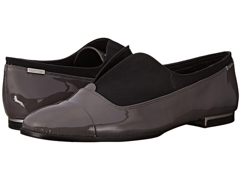 Calvin Klein - Cadence (Shadow Grey Patent/Stretch) Women's Shoes