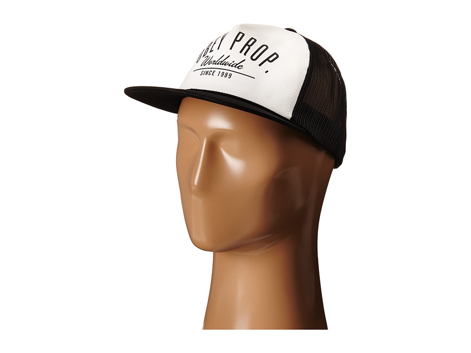 Obey - Stacks Trucker (White/Black) Caps