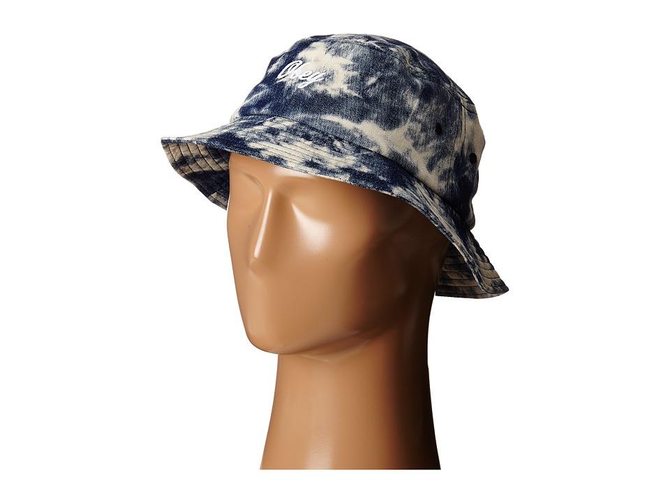 Obey - Acid Bucket Hat (Indigo Multi) Bucket Caps