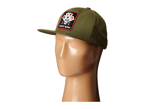 Obey - Full Deck Snapback (Army) Caps