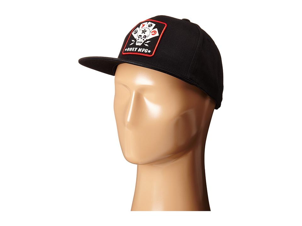 Obey - Full Deck Snapback (Black) Caps