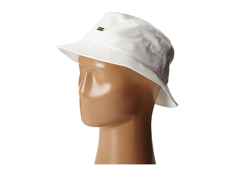Obey - Surplus Bucket Hat (White) Bucket Caps