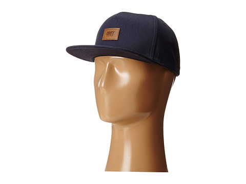 Obey - Worker Snapback (Dark Navy) Caps