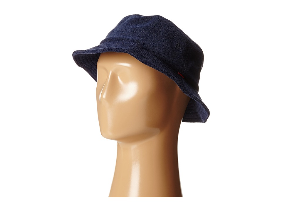 Obey - Terry Bucket Hat (Navy) Bucket Caps