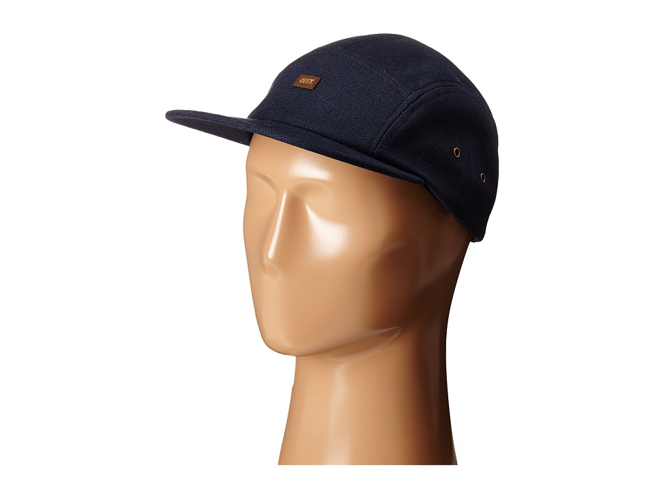 Obey - Flax 5 Panel (Navy) Caps
