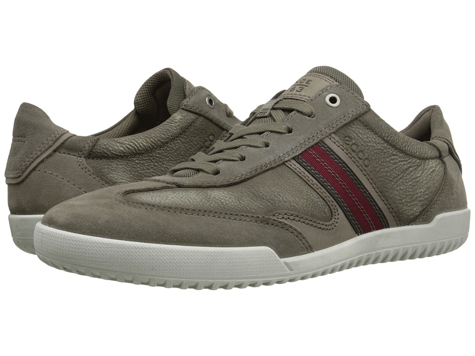 ECCO - Graham Retro Sneaker (Warm Grey/Tarmac) Men