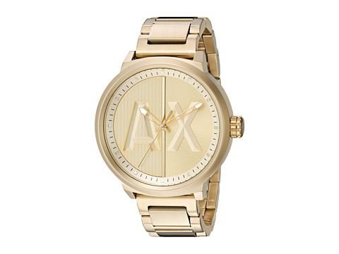 AX Armani Exchange - Atlc - AX1363 (Gold) Watches