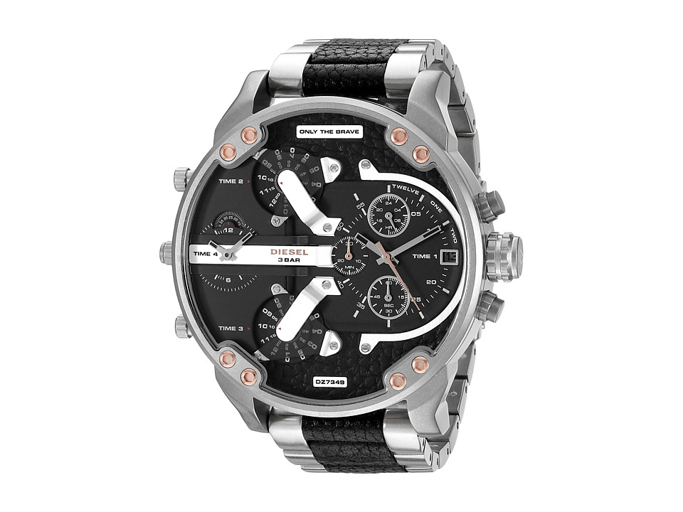 Diesel - Mr. Daddy 2.0 - DZ7349 (Silver Tone) Watches